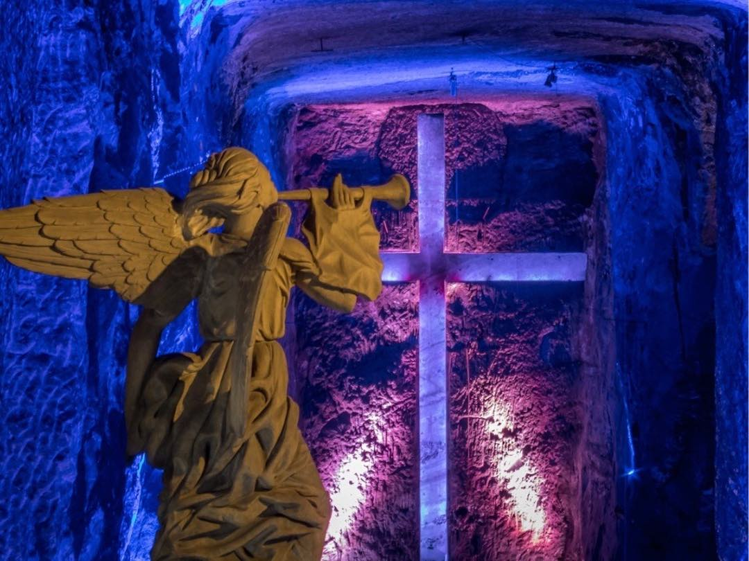 Catedral de sal in zipaquira colombia