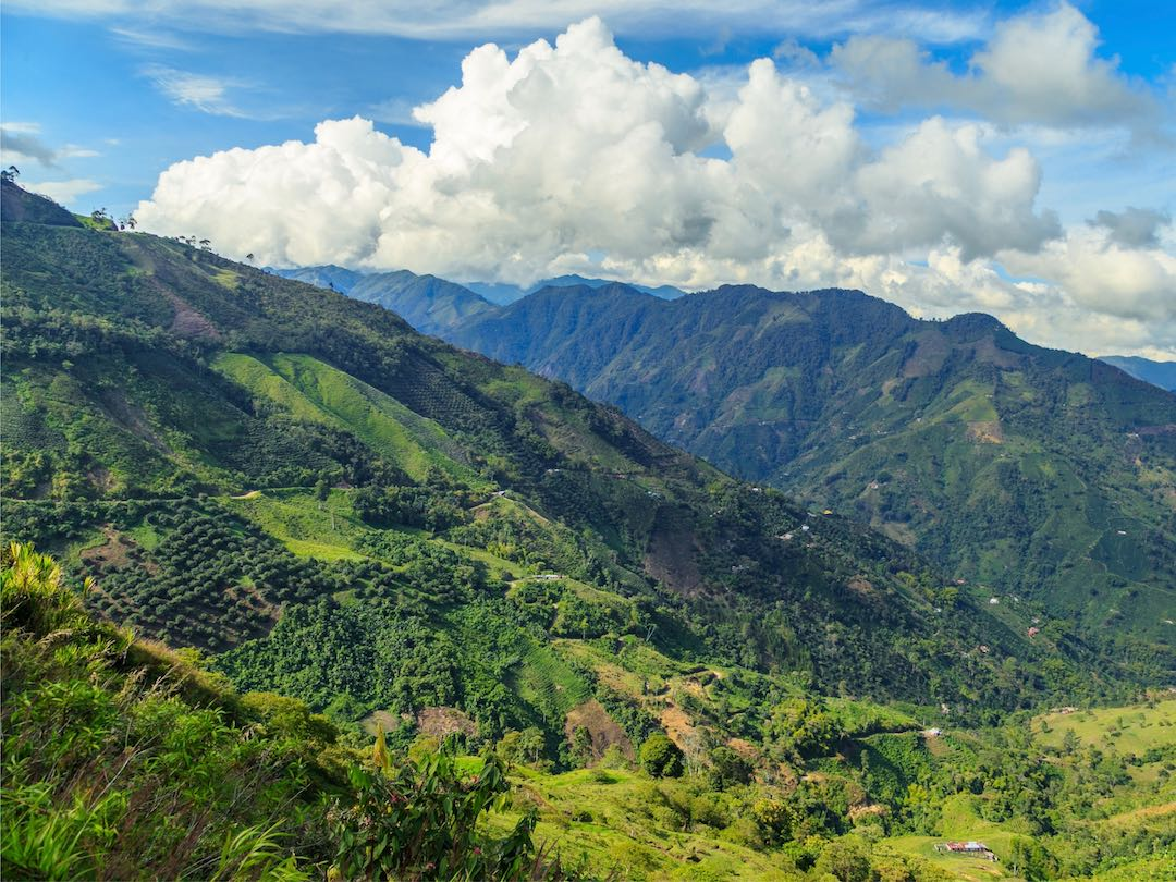 Andes Mountains Colombia
