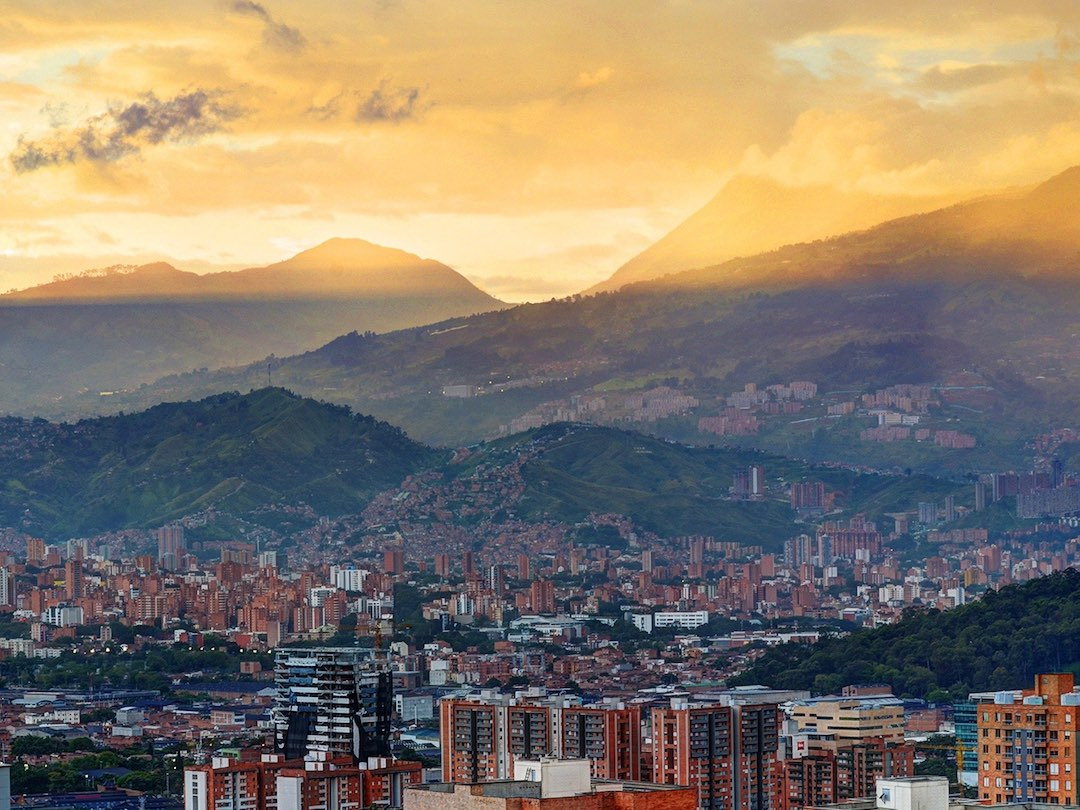 Medellin, first stop in 2 week tour of Colombia