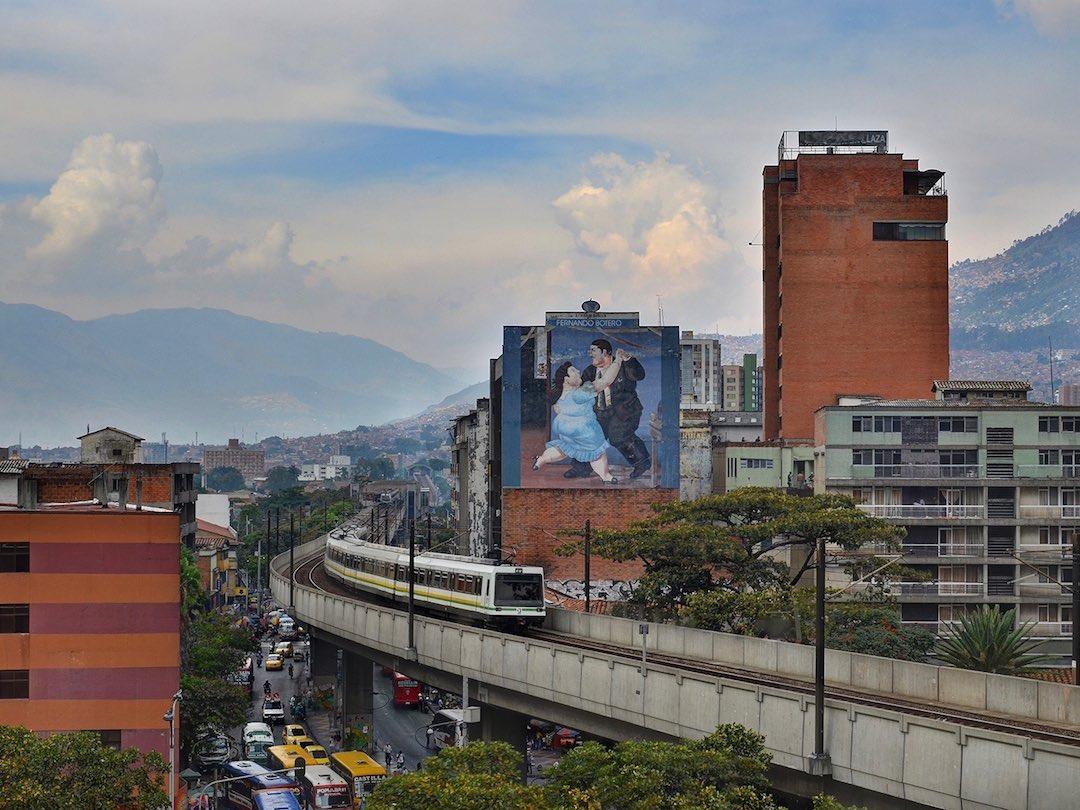 Medellin city centre