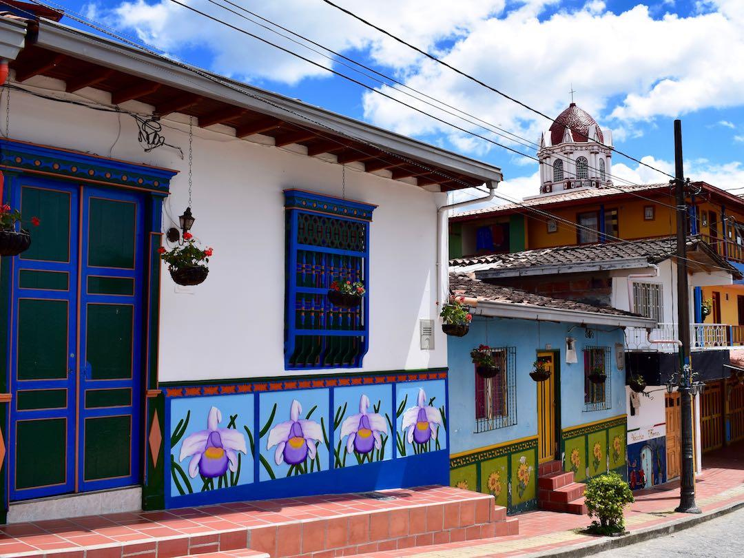 Streets of Guatape, Antioquia