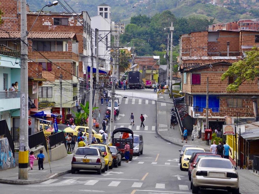 Daily life in the barrios of Medellin