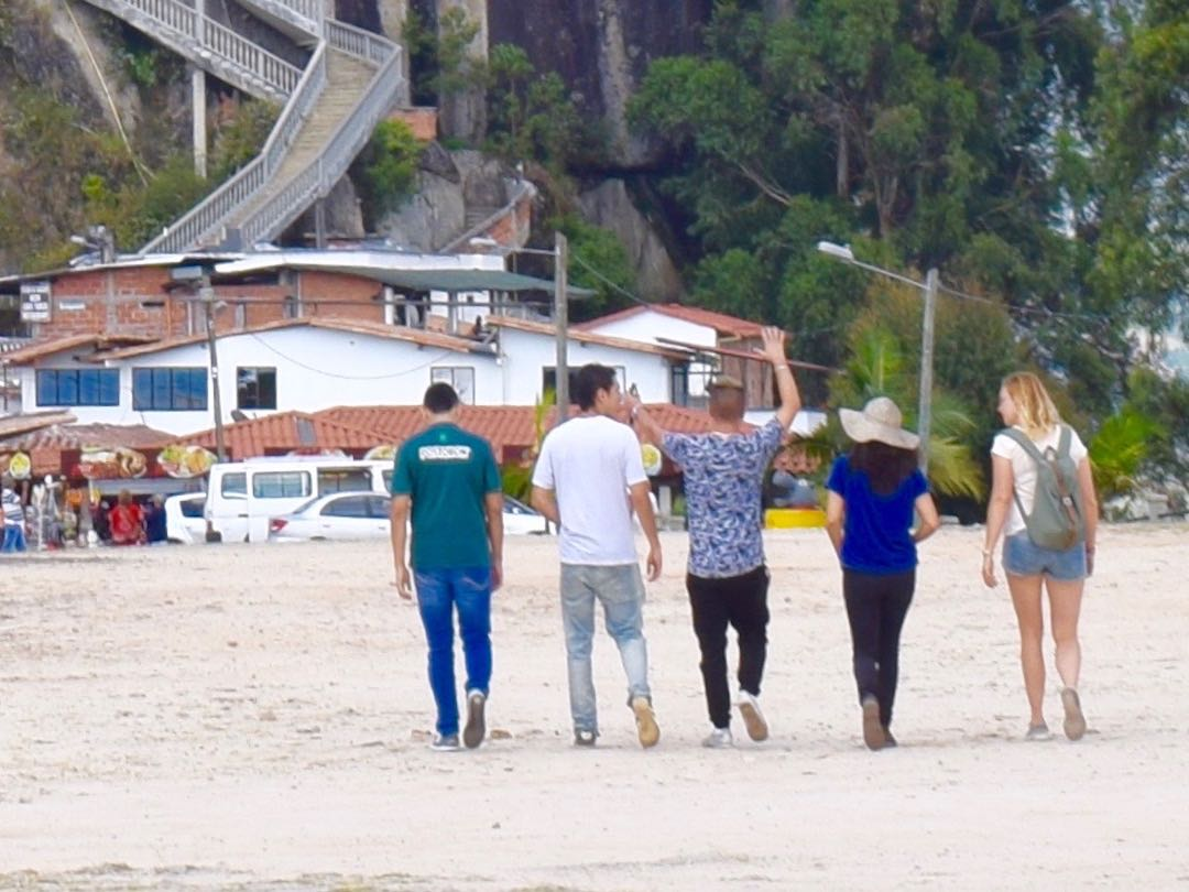 Like minded travellers on Colombia tour group