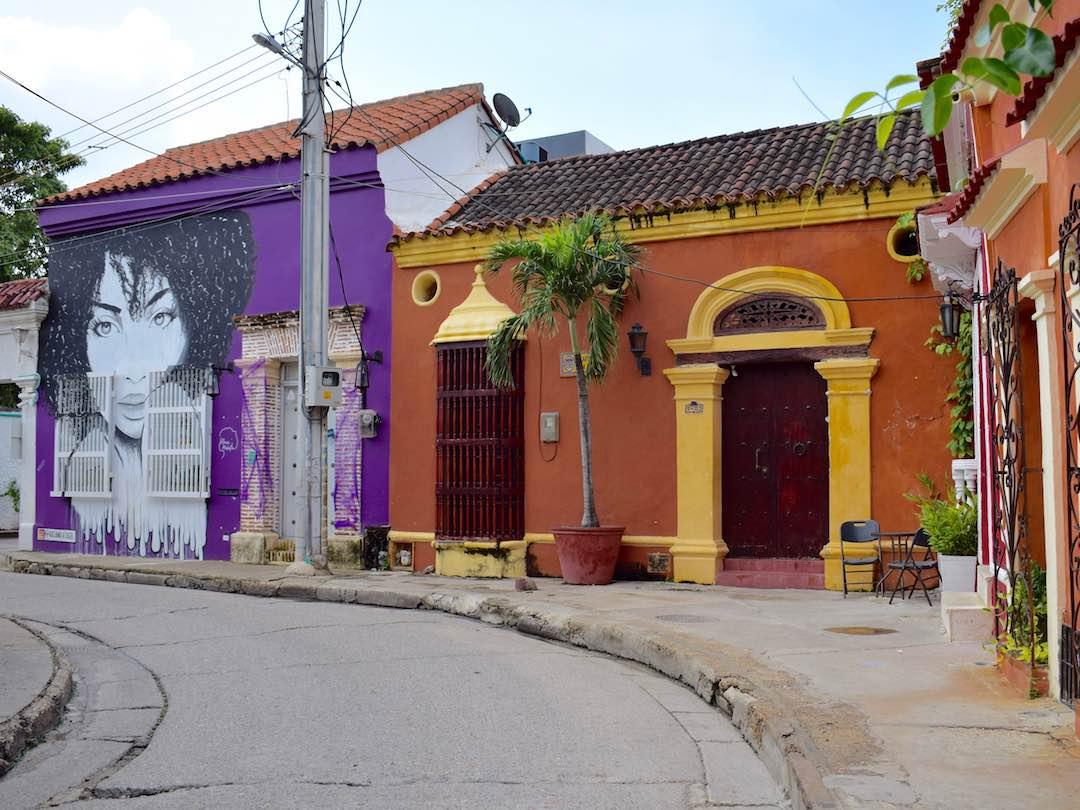 Backstreets of getsemani, cartagena during 2 weeks in colombia