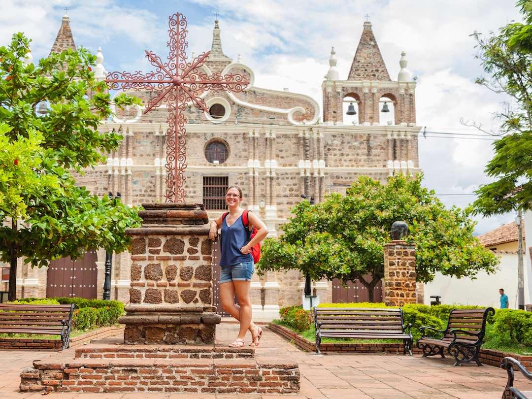 Church, Santa fe de Antioquia, colombia