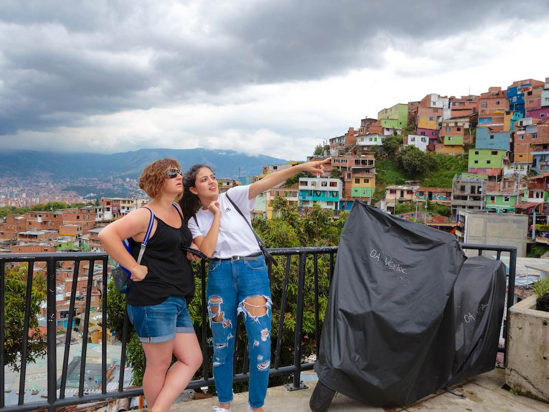 Visiting a social project in medellin during 2 week trip