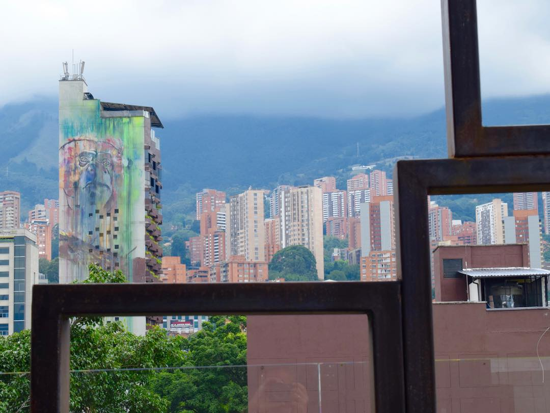 View of El Poblado, Medellin