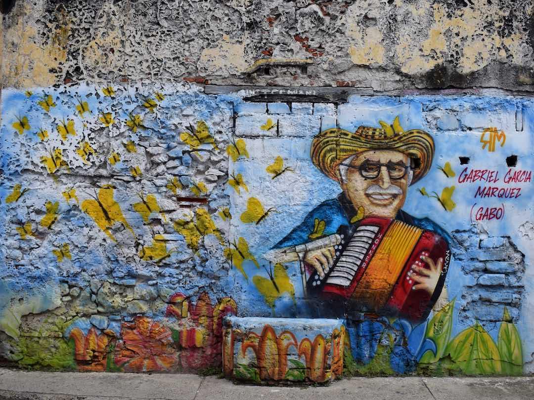 Graffiti in getsemani, cartagena