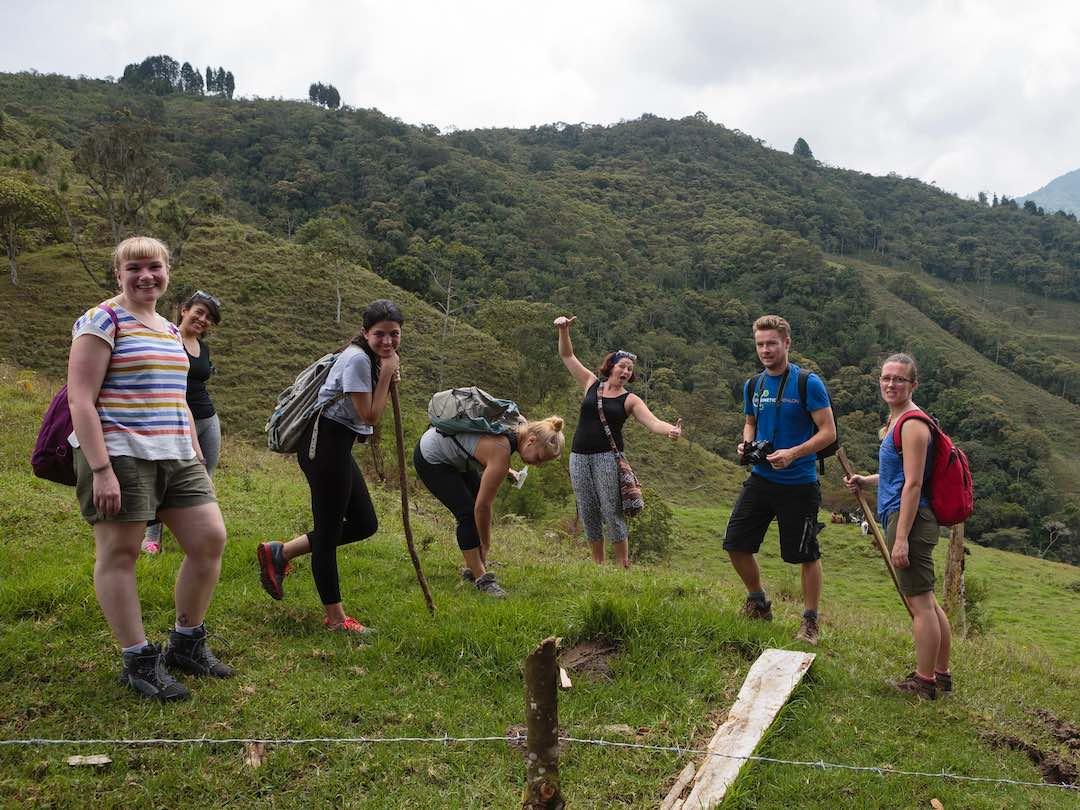 Hiking in Medellin