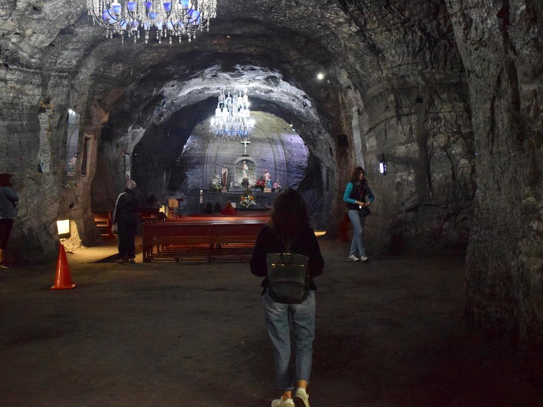 Salt cathedral zipaquira colombia
