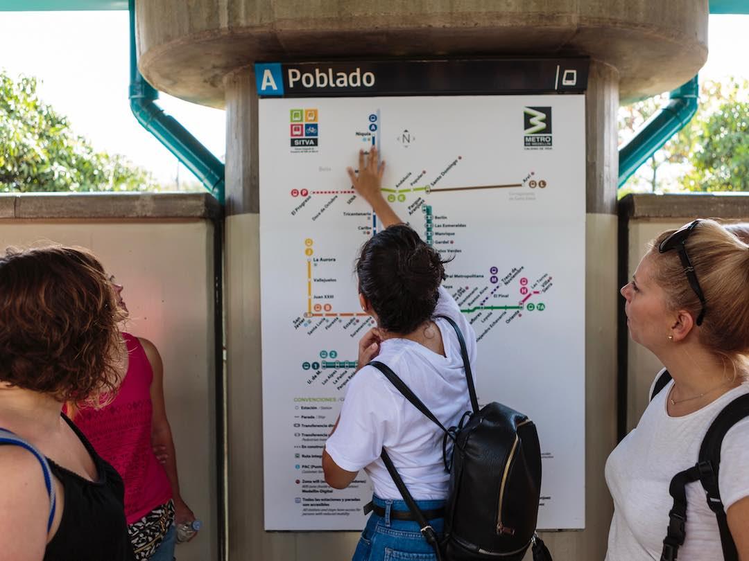 Metro, Medellin, Colombia