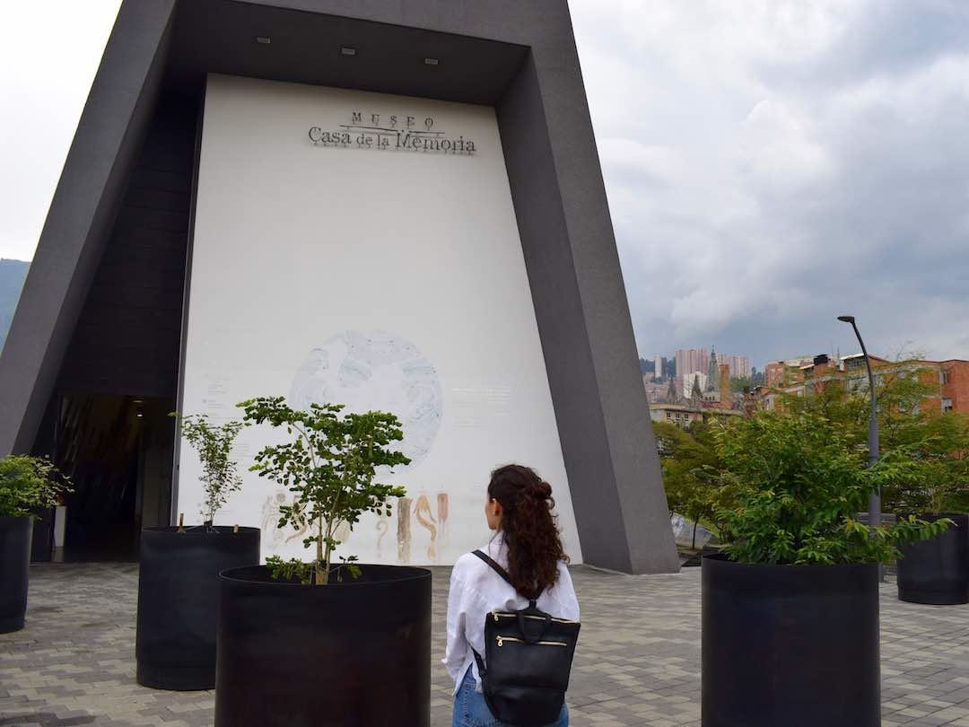 cultural things to do in medellin: casa de la memoria