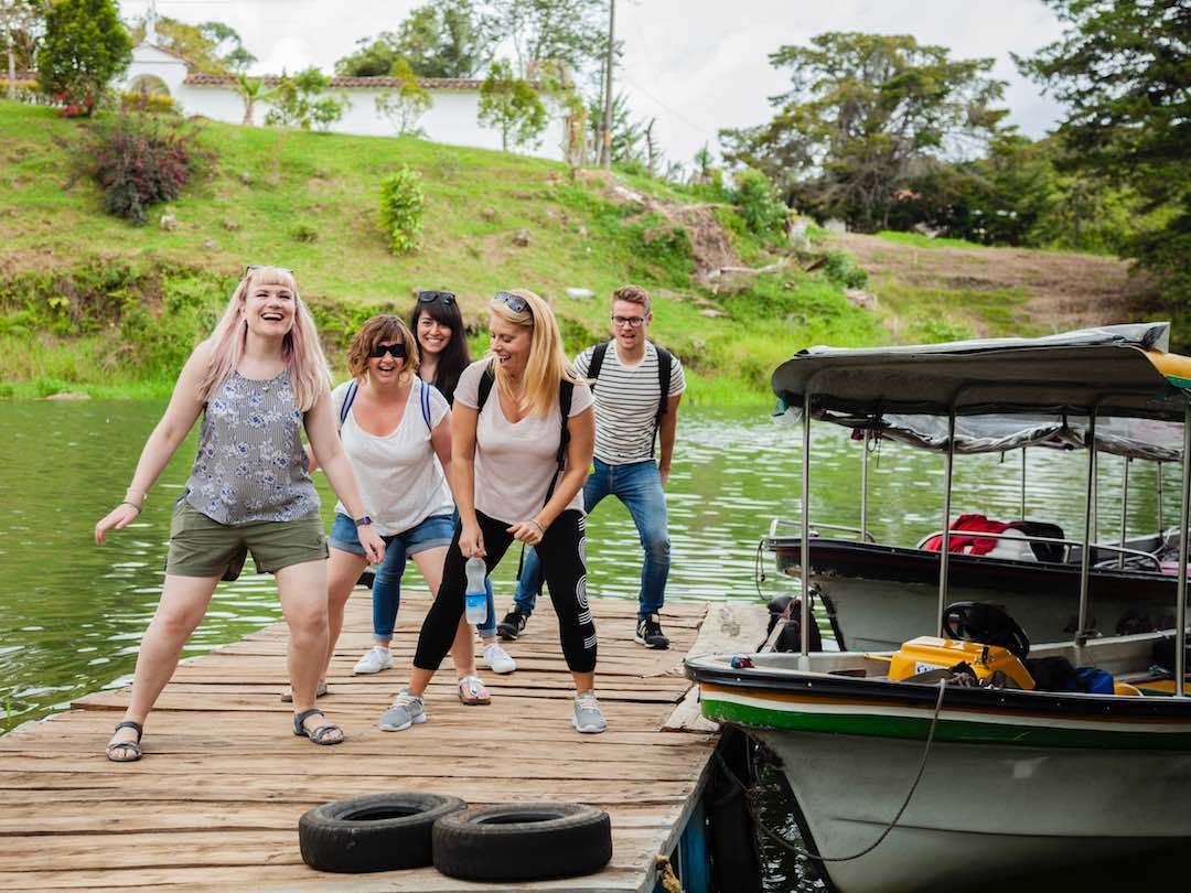 Small group tour 2 week colombia itinerary