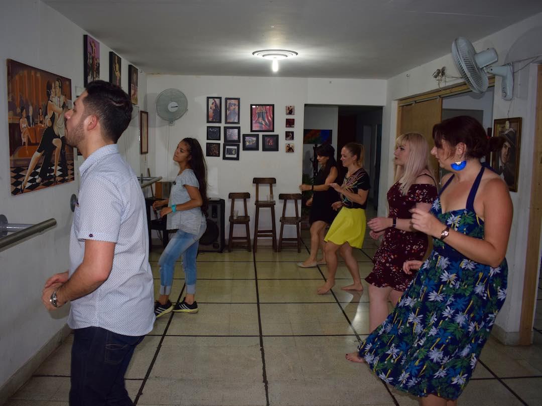 Salsa lesson in Medellin, Colombia