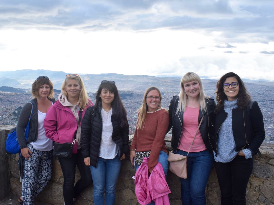 Colombia small group tour, photo in Bogota