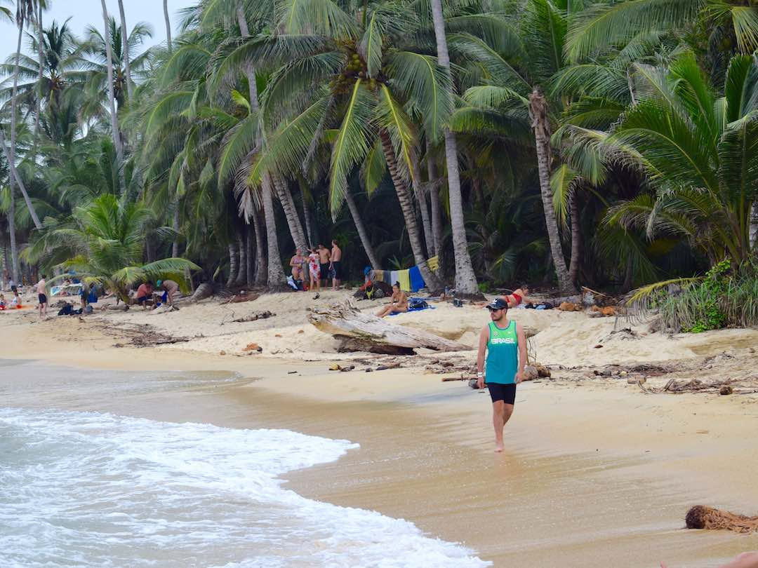 strolling beaches of parque tayrona, colombia