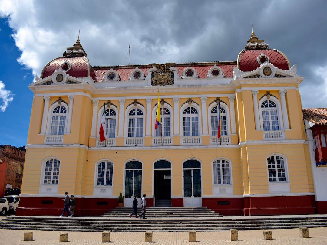 government building zipaquira, cundinamarca, colombia