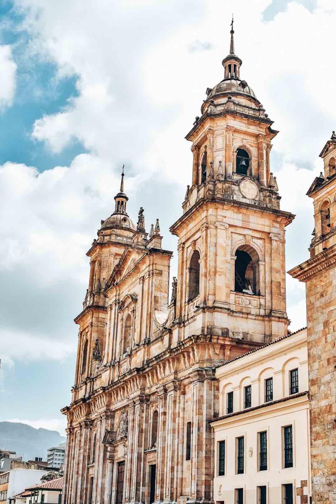 Things to do in Bogota: Plaza Bolivar