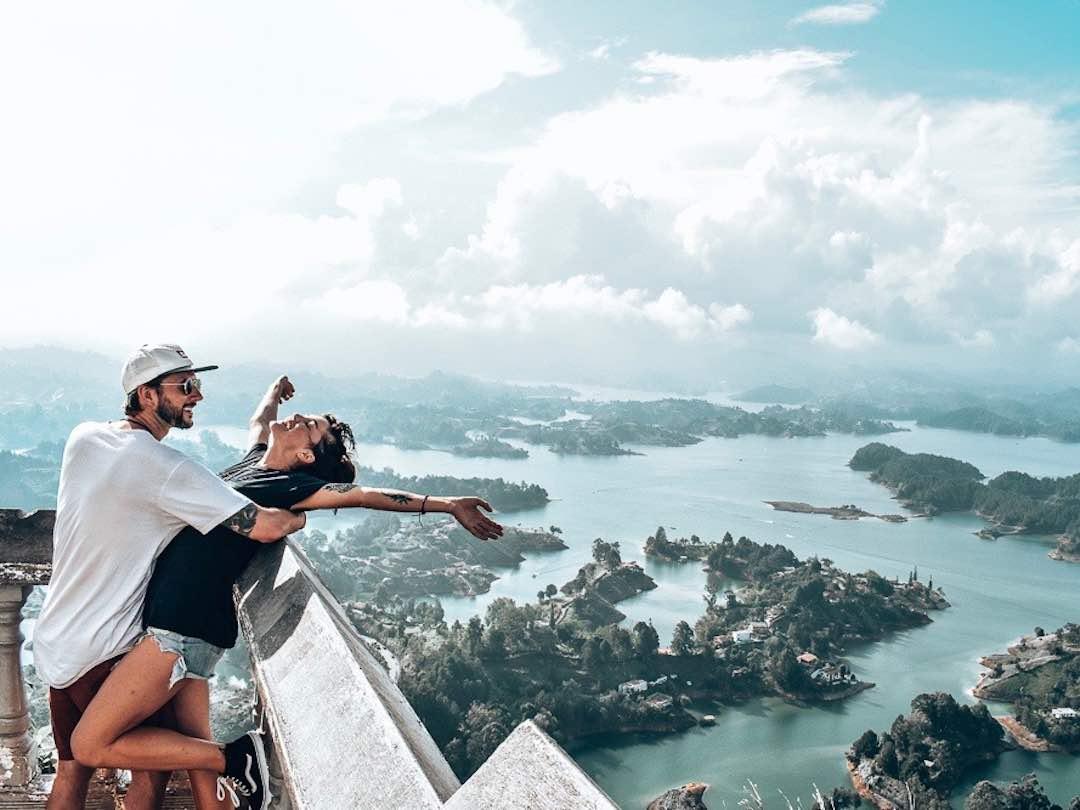 Best places to visit in Colombia La Piedra del Penol