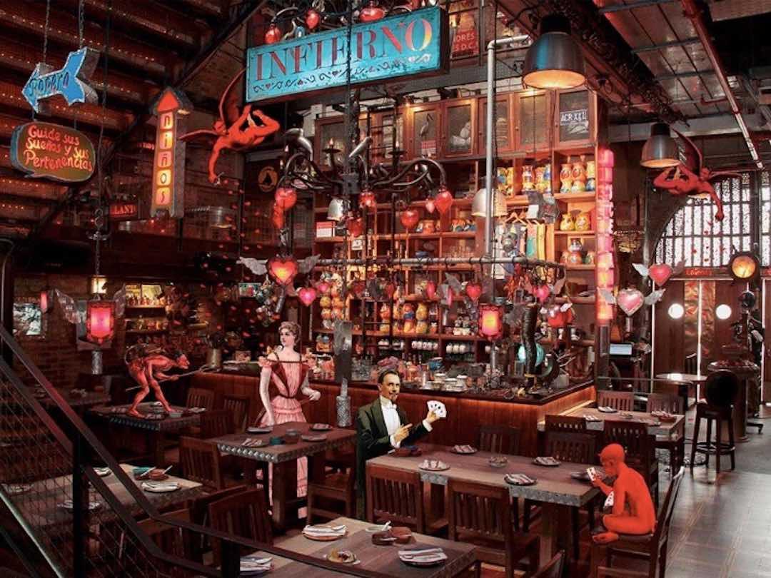 Andres DC restaurant in Bogota