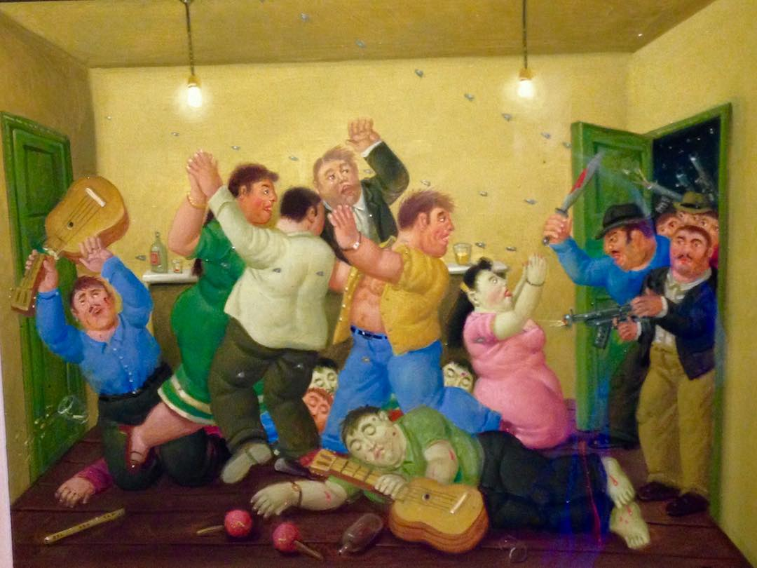 Things to do in Bogota: botero museum