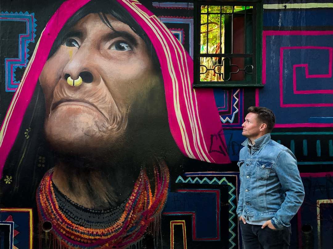 Things to do in Bogota: Graffiti tour