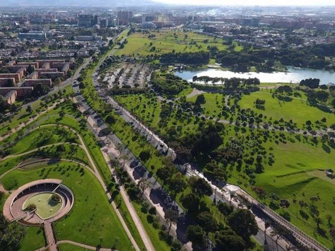 Things to do in Bogota: parque simon bolivar