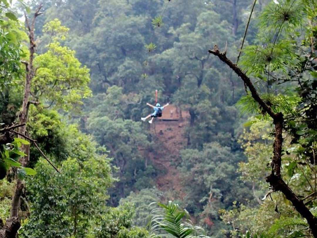 Chicaque national park, near Bogota