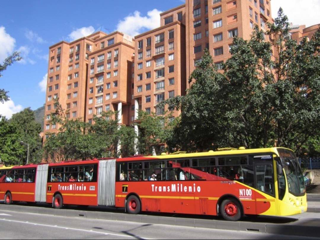 Transport in Bogota: transmilenio