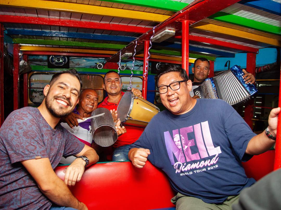 Party bus Cartagena with Other Way Round travel