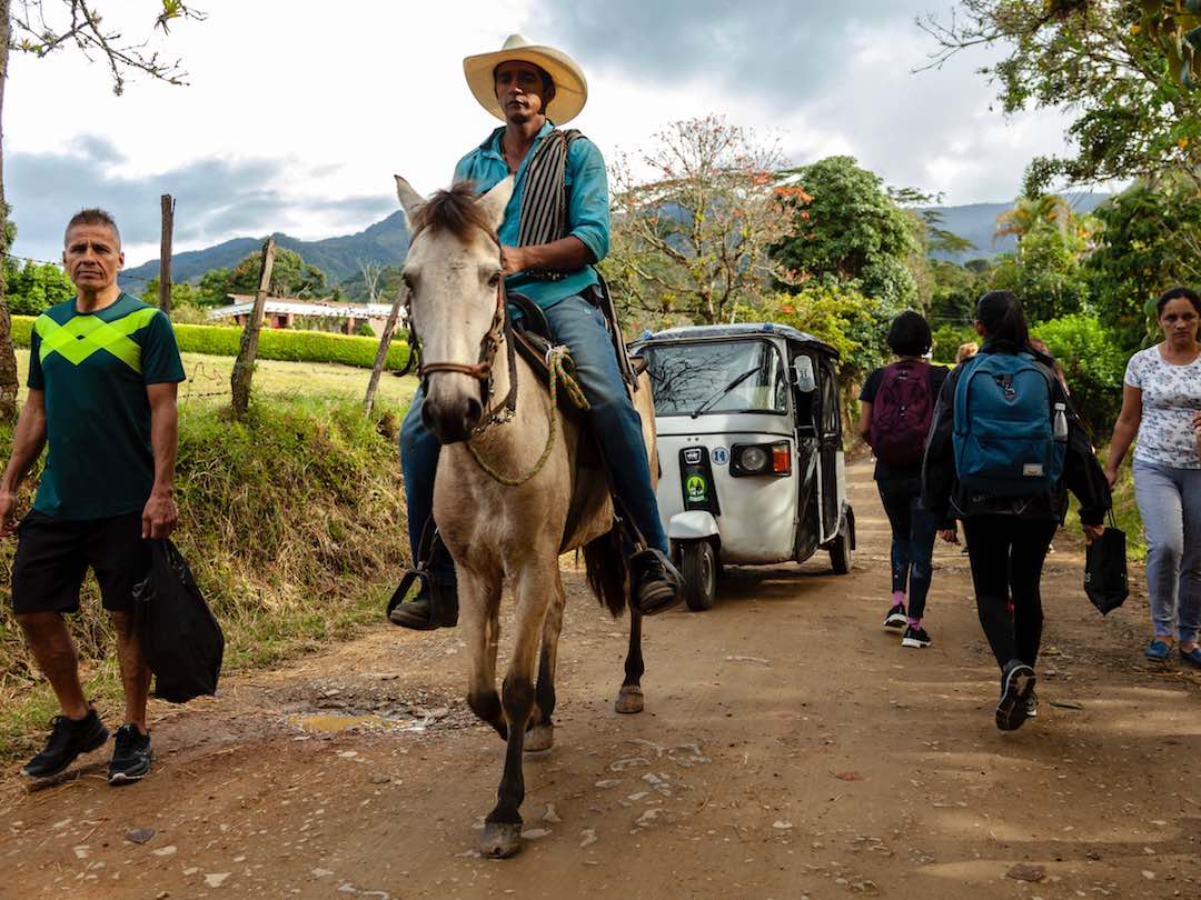 Telling guests about safety in colombia