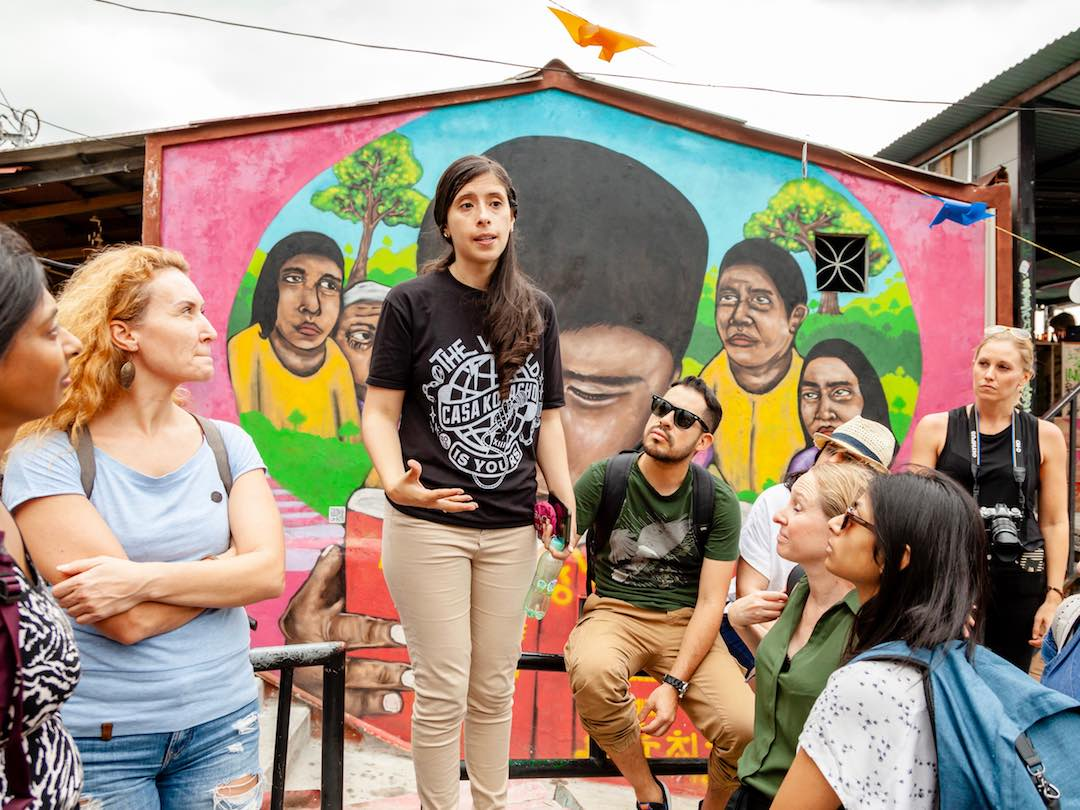 Telling stories of more dangerous times in Medellin Colombia