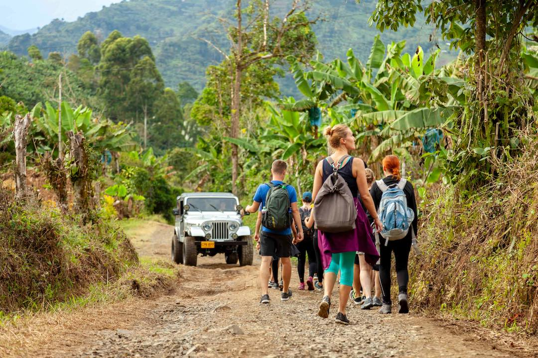 A travel group for people in their 30s, Other Way Round