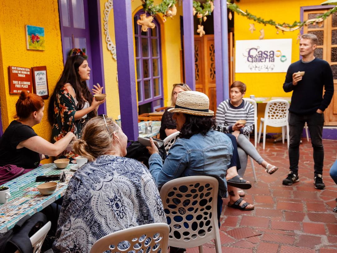 Other Way Round Small Group Tours Colombia for people in their 30s and 40s