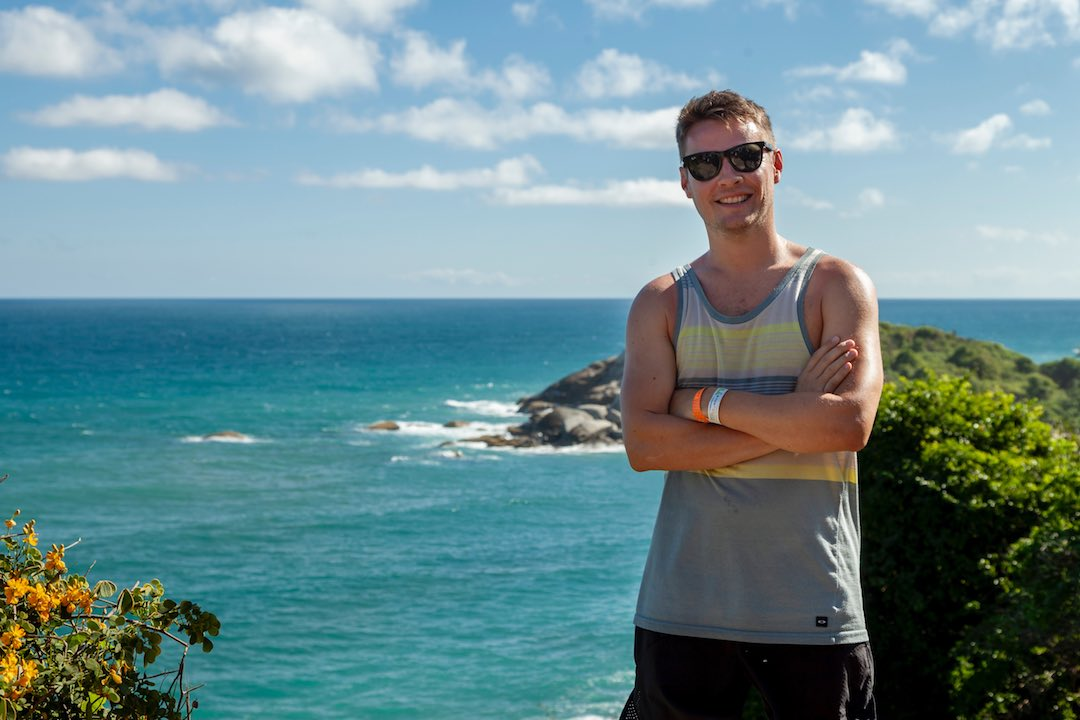 Steve Dillon, founder of Other Way Round, the group travel company for 30 and 40 somethings
