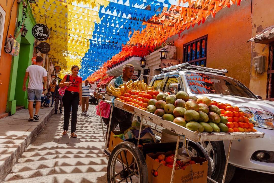 Travelling alone in Cartagena Colombia