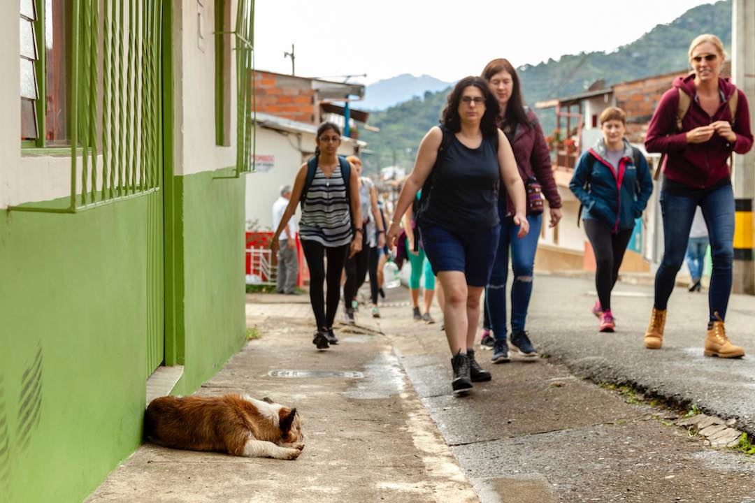 Travelling Colombia with other women in their 30s
