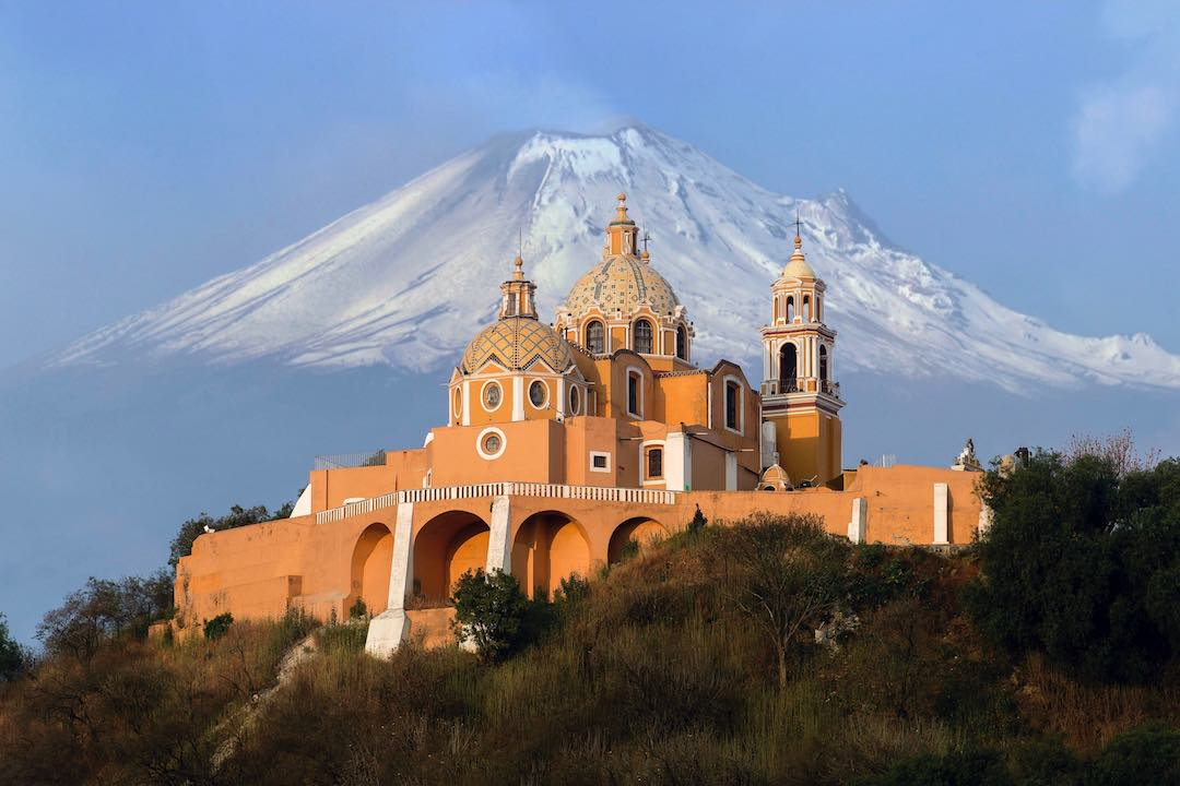 Scenery during Mexico escorted tour
