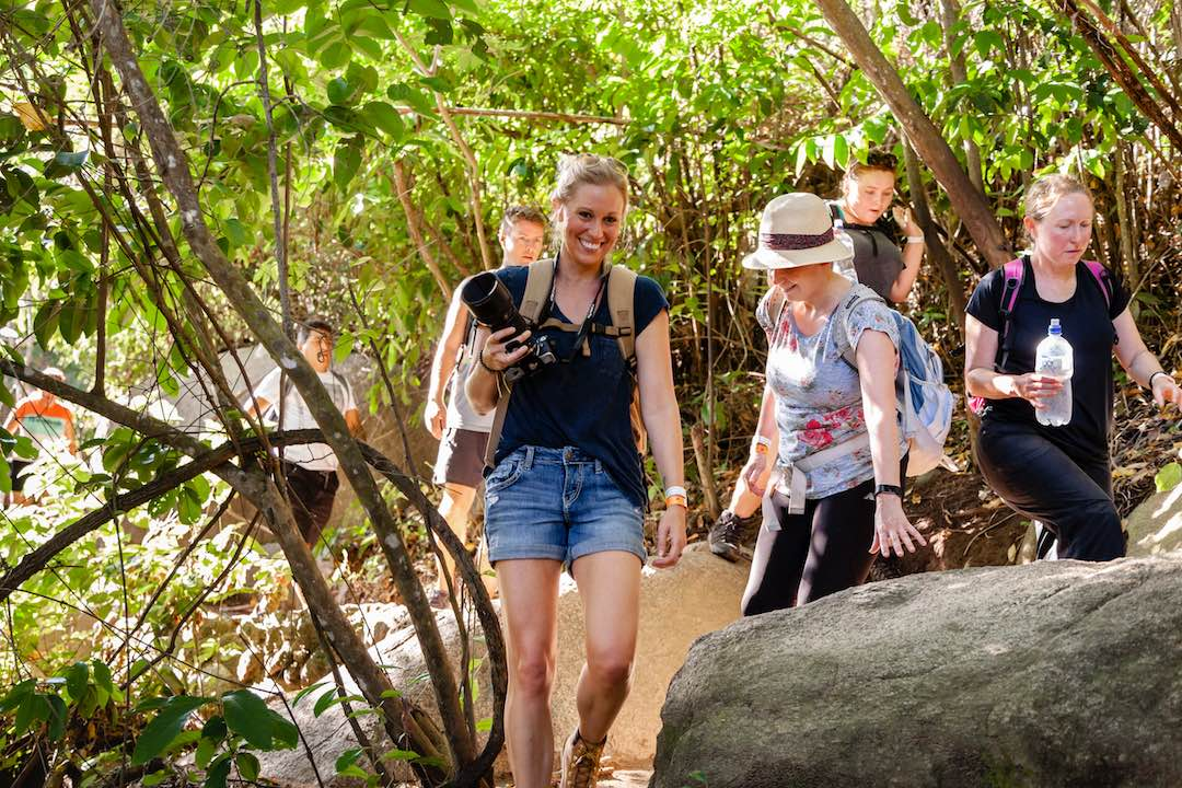 Hiking with a group of 30 year old solo female travellers