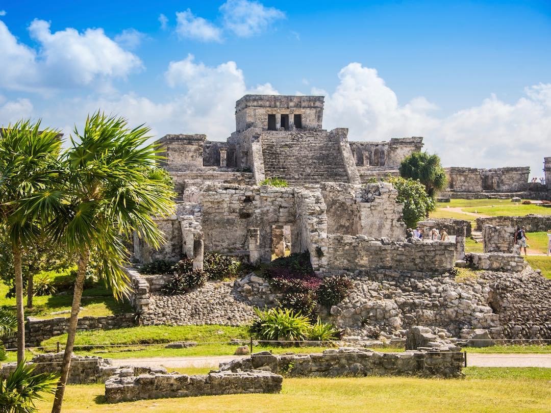 Touring the Mayan temples of Tulum, Mexico