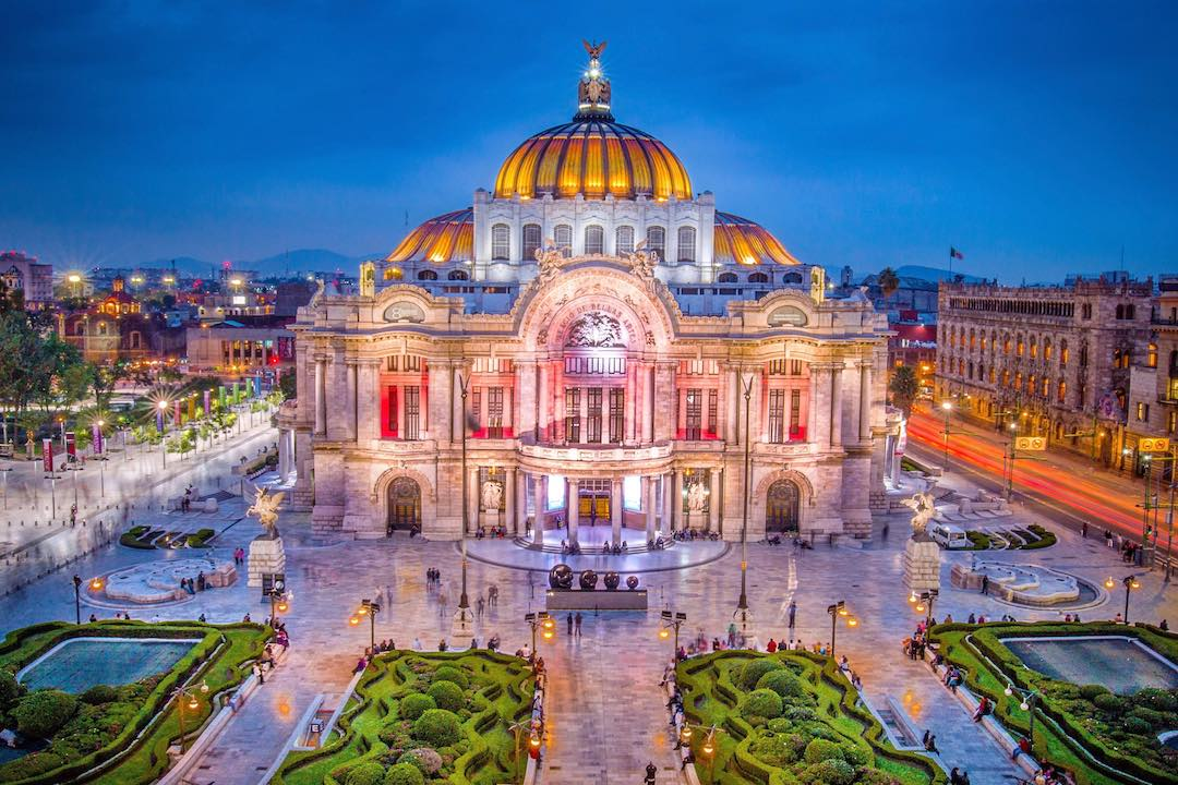 Visiting Mexico City on Mexico small group tour
