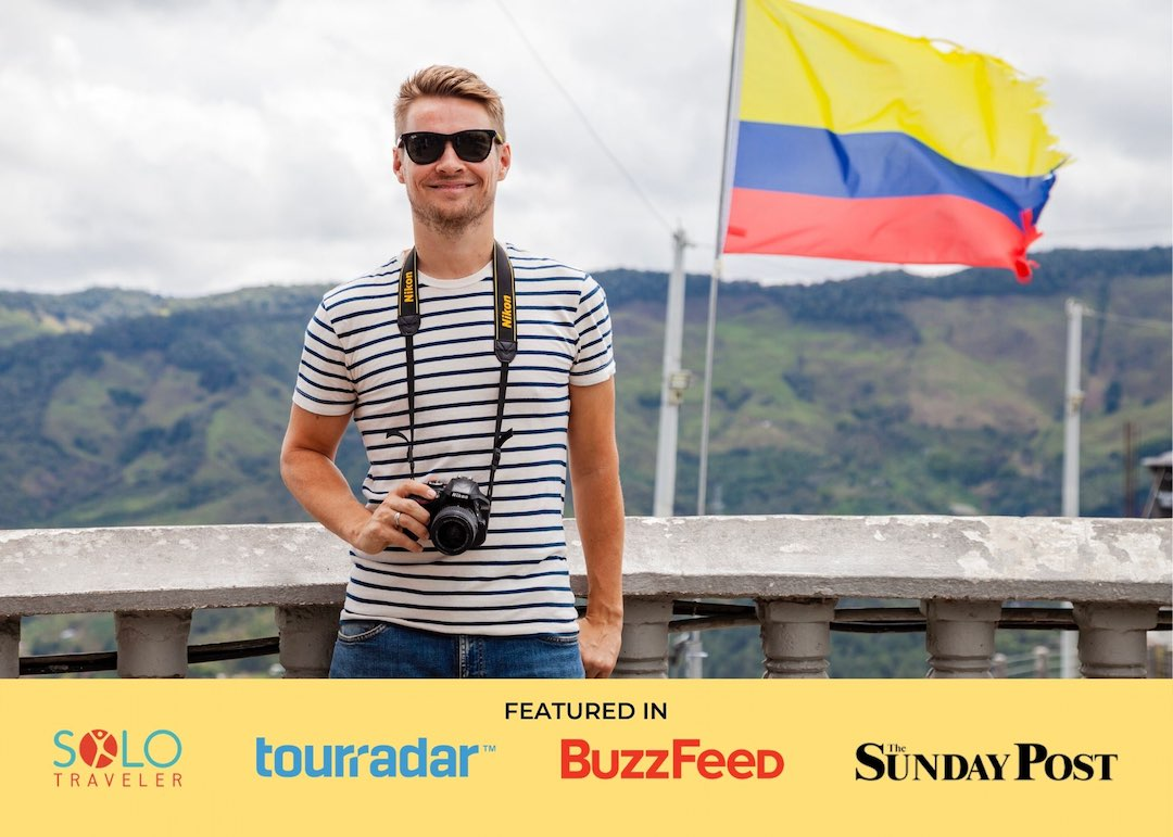 Steve, founder of Other Way Round, the tour group for solo travellers aged 25-45