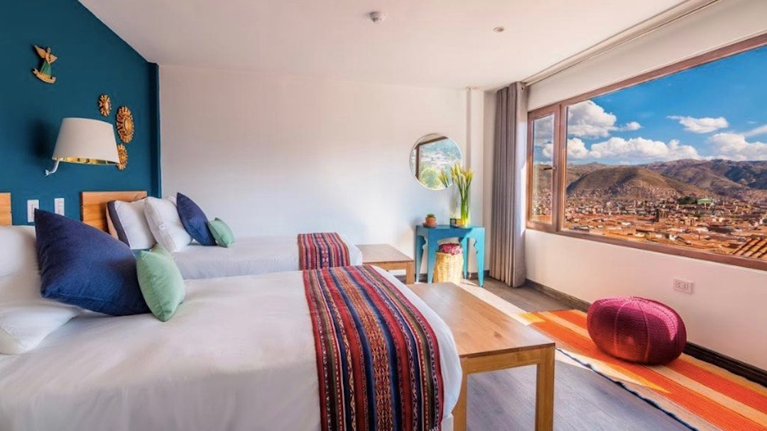 Staying in Tariq Boutique Hotel, Cusco during group tour of Peru