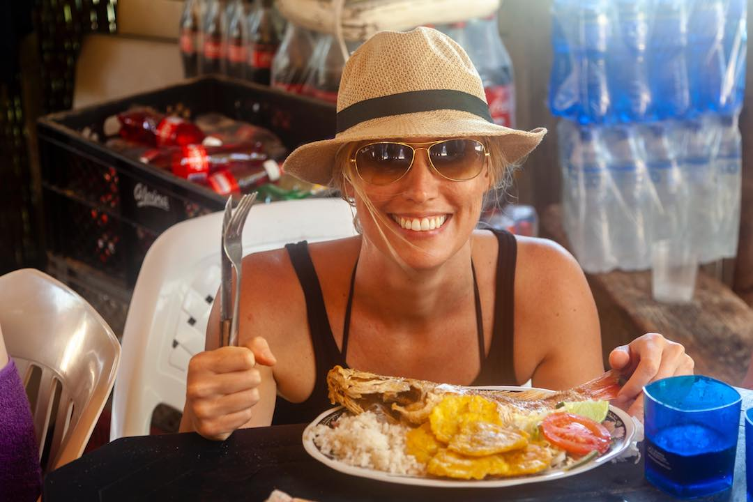 Enjoying my time as a solo female traveller