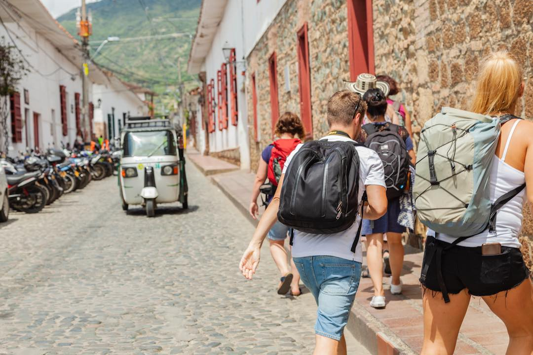 Visiting Santa Fe during Colombia small group tour