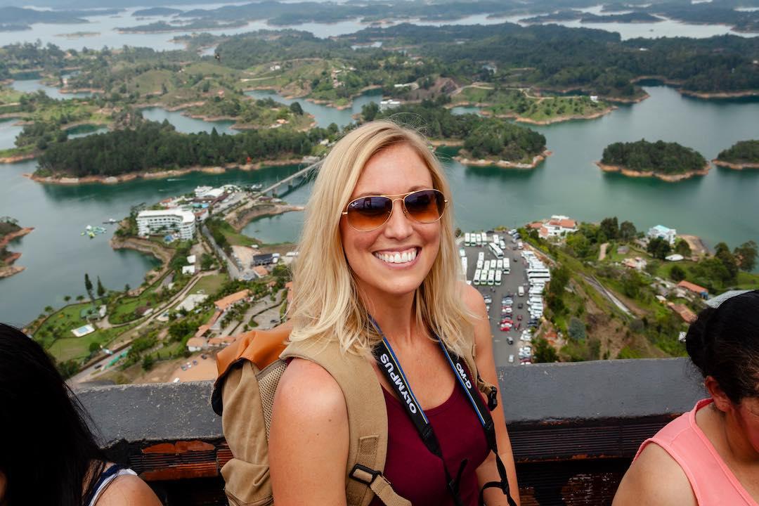 Solo female traveller in her 30s