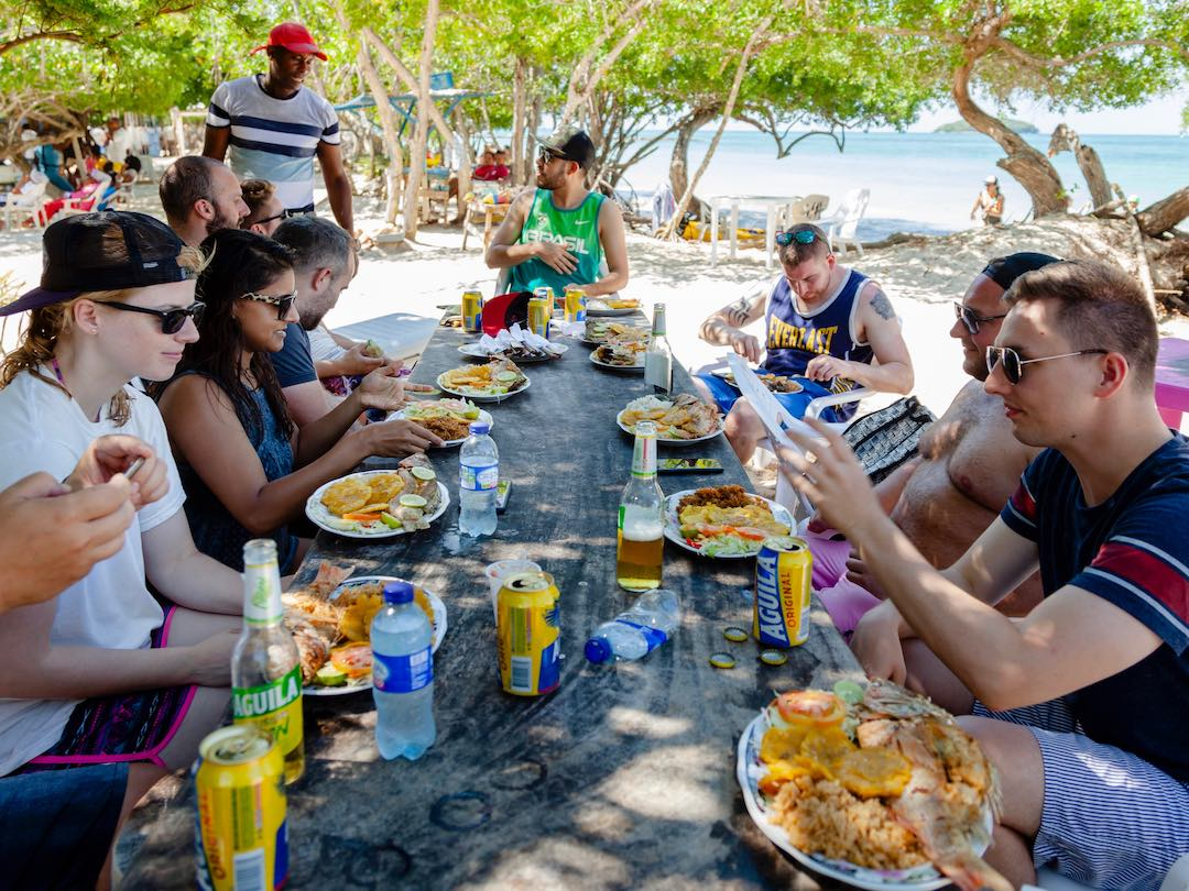 Things to do in Cartagena - eating the local fish