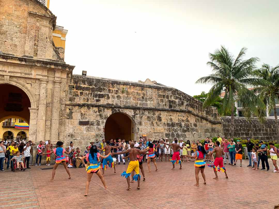 The city walls, one of the top things to do in cartagena