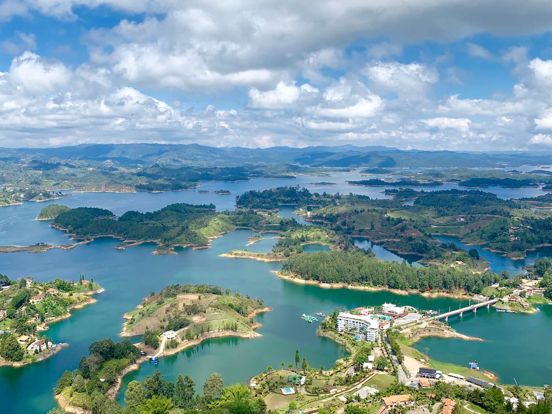 looking over the lake one of the best things to do in guatape