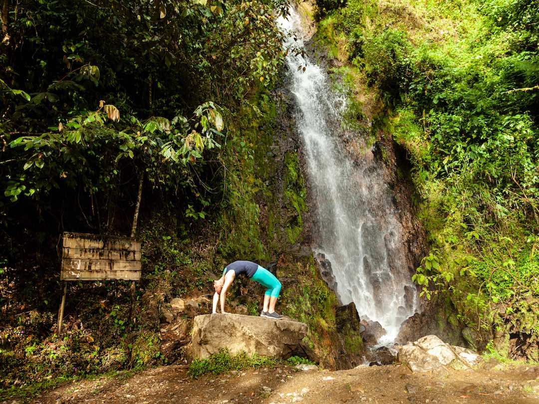 waterfalls near guatape colombia